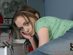 Mischa catches her professor spying on her looking at her shoes he confesses he was wond....